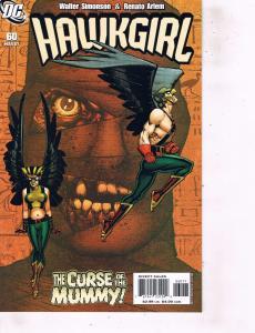 Lot Of 2 Comic Books DC Hawgirl #60 and Hawkworld #1 Batman   MS12
