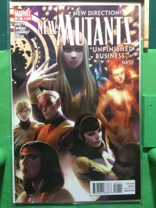 New Mutants #25 2009 series Unfinished Business part 1