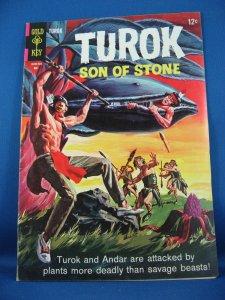 TUROK SON OF STONE 45  Very Good  Fine  1965  Dinosaurs