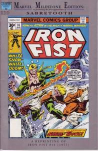 Marvel Milestone Edition Iron Fist #14, VF+ (Stock photo)