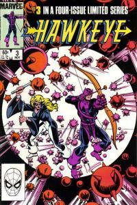 Hawkeye (1983 series) #3, VF+ (Stock photo)