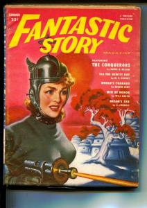 Fantastic Story-Pulps-Summer/1951-David H. Keller-Kevin Kent