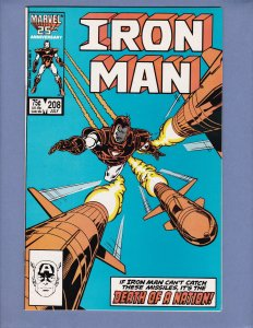 Iron Man #208 VF Marvel 1986