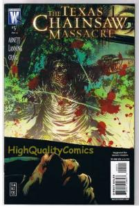 TEXAS CHAINSAW MASSACRE #5, NM+, Bloody Mess, 2007, more HORROR  in store
