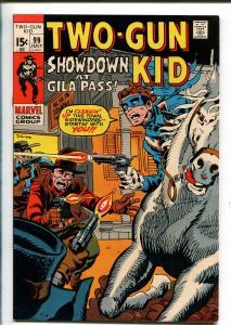TWO GUN KID #99 1971-MARVEL-STAN LEE-JOHN SEVERIN-WESTERN ACTION-vf+
