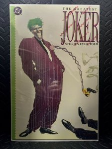 The Greatest Joker Stories Ever Told | Comic Book Cover Replica | 11x17 Poster