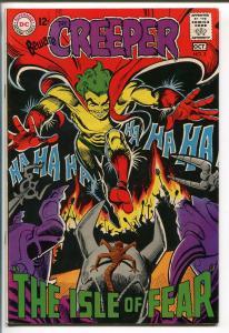 BEWARE THE CREEPER #3 1968-DC COMICS--STEVE DITKO ART-BIZARRE-RADICAL-vf