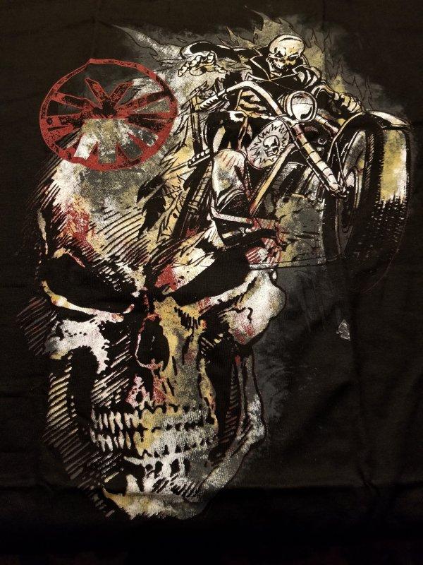 Ghost Rider Spirit of Vengeance T-Shirt XL NOS w/ Tags  Marvel