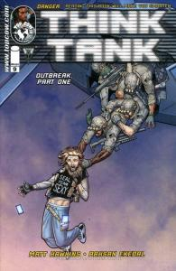Think Tank #9 VF/NM; Image | save on shipping - details inside