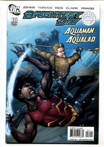 Brightest Day #16 2011 AQUAMAN vs. AQUALAD DC comic book