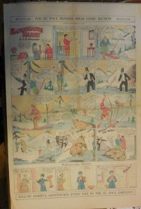 Hairbreadth Harry Sunday Page by F.O. Alexander from 11/15/1931 Full Page Size !