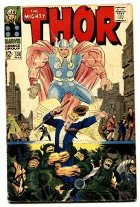 Thor #138 1966 comic book- Jack Kirby- Marvel Silver Age VG