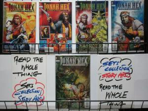 JONAH HEX RIDERS OF THE WORM & SUCH 1-5 complete story
