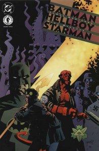 BATMAN HELLBOY STARMAN (1999 DC/DH) 1-2  MIKE MIGNOLA