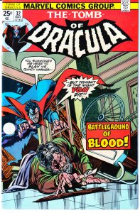 Tomb of Dracula(vol. 1) # 32 Harker vs Dracula !