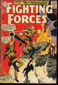 OUR FIGHTING FORCES #89-GUNNER & SARGE-DC WAR VG
