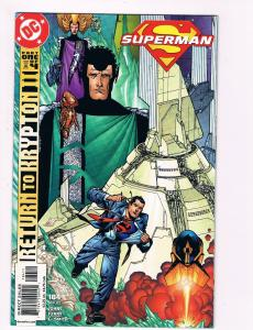Superman # 184 DC Comic Books Hi-Res Scans Modern Age Awesome Issue WOW!!!!!! S5
