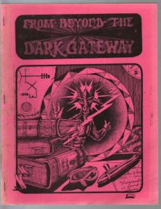 From Beyond The Dark Gateway #4 1977-Silver Scarab-pulp fiction-Bloch-VG
