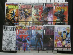 Invincible (Image 2012) Lot of 10 Issues from #62-124 Kirkman's Superhero