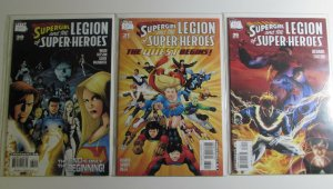 Supergirl and Legion of Super-Heroes #30,31,35 DC 2007 NM Lot of 3 Comic Books