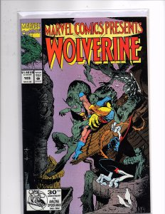 Marvel Comics (1988) Marvel Comics Presents #103 Wolverine Sam Keith Cover