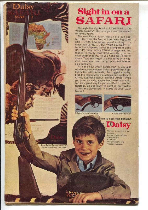 Thirteen #24 1971-Dell-Going On Eighteen-final issue-John Stanley-FN