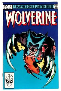WOLVERINE LIMITED SERIES #2 1982 comic book-marvel VF/NM