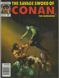 The Savage Sword of Conan the Barbarian #155 - Magazine