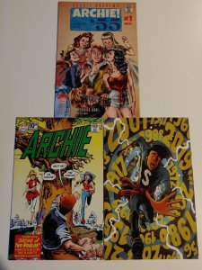 ARCHIE LIMITED VAR!Archie '55 #1, Archie Married Life 1, Jugheads TimePolice 1