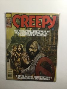 Creepy 124 Very Fine Vf 8.0 Jan 1981 Warren Magazine