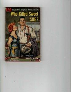 4 Books Who Killed Sweet Sue? Footloose Dark Shadows The Organization Mad JK17