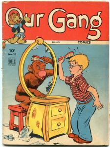 Our Gang #10 1944- Carl Barks- Walt Kelly- Dell Golden Age VG