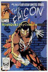 FALCON #1, NM-, Paul Smith, 1983, Captain America's Partner,more Marvel in s