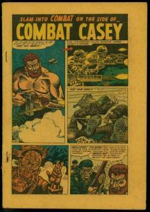 Combat #10 1953- Atlas War- Combat Casey- Hannibial - Reading Copy