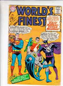 World's Finest #155 (Feb-66) FN Mid-Grade Superman, Batman, Robin