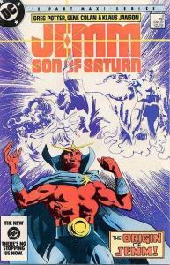 Jemm: Son of Saturn #3, NM- (Stock photo)