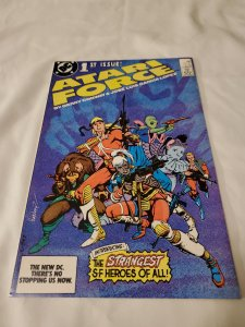 Atari Force 1 Near Mint- Cover by Garcia-Lopez