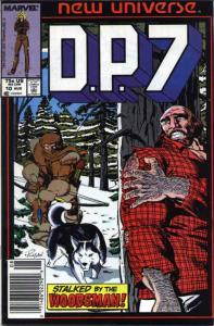 D.P.7 #10 (Newsstand) VG; Marvel | low grade comic - save on shipping - details
