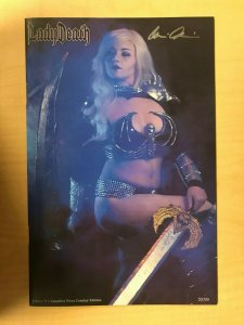 Lady Death Killers #1 Sapphire Nova Cosplay Photo Variant Cover Signed by Pulido