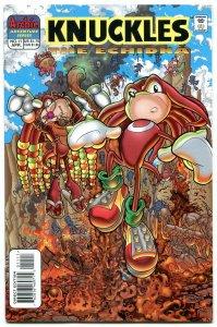 Knuckles #11 1998- Archie Comics- Sega- Echidna Sonic VF/NM