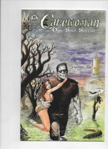 CAVEWOMAN ONE-SHOT #1, NM, Frankenstein, Budd Root, 2000, more CW in store