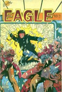 Eagle (1986 series) #15, VF- (Stock photo)