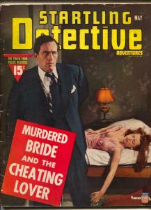 Startling Detective Adventures Magazine May 1941- true crime