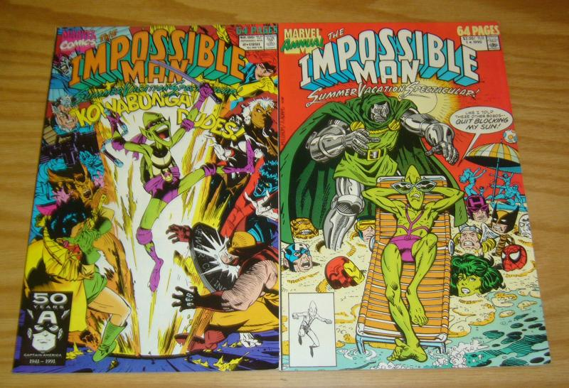 Impossible Man Summer Vacation Spectacular 1-2 VF/NM complete series peter david