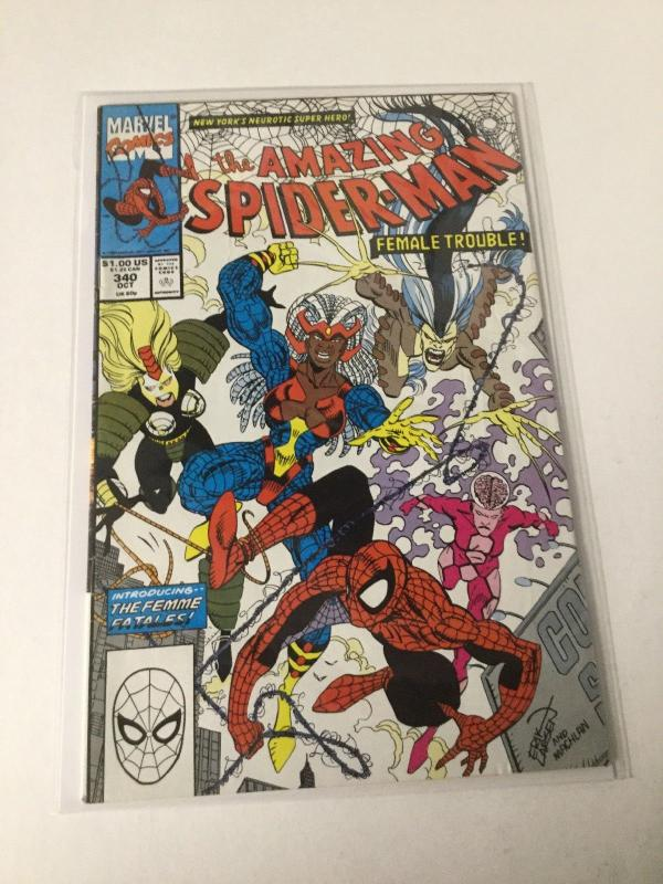 The Amazing Spider-Man 3 8.5 Vf+ Very Fine+ Nm Near Mint Marvel
