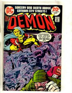 The Demon # 13 VF DC Comic Book Jack Kirby Bronze Age Etrigan Fourth World RS1