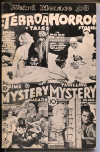 Weird Menace Classics #3 1977-Weinberg-Dime Mystery lurid story reprints-FN