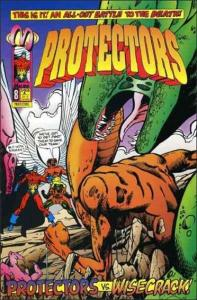 Malibu PROTECTORS (1992 Series) #8 VF/NM