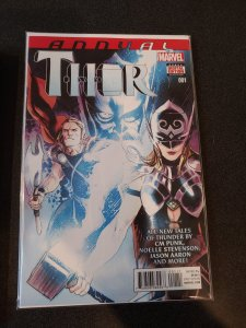 Thor annual 1 (marvel 2015) JANE FOSTER AS THOR NM