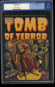 Tomb of Terror #11 CGC VF+ 8.5 Cream To Off White File Copy PCH Horror!